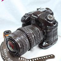 canon eos1 Camera cake