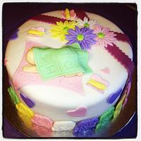 Baby Shower Cake by Jeremy