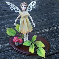 Rose Fairy Cake Topper