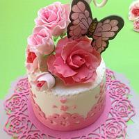 some  spring cakes  by Maria  Teresa Perez