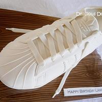 Shell Toe Adidas Sneaker Cake