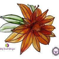 Gelatine flower: Chrysantemum