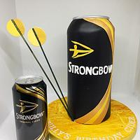 Strongbow cake