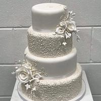 Beautiful in white -wedding