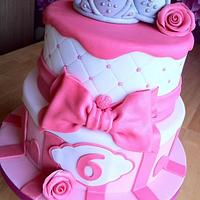 Twin Princess cake