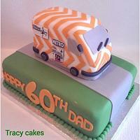 60th birthday cake