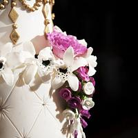 Bling and Gold Wedding by Susie Villa-Soria