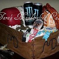 Grooms box by Taras Handcrafted Cakes