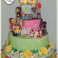 40' cake