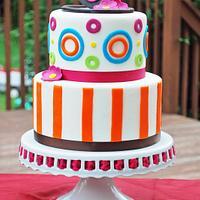 30th Birthday Tiered cake