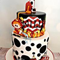 Will's Fireman Birthday