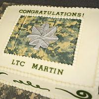 Lieutenant Colonel Promotion Cake! by Jacque McLean - Major Cakes