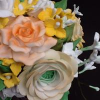 Sugar flowers by lorraine mcgarry