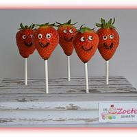 Funny Strawberry's by claudia