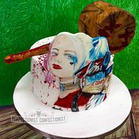 Ruby Rose - Harley Quinn Birthday Cake