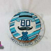 Crazy 80th Birthday - BUTTERCREAM