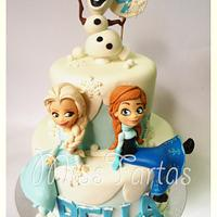 My Frozen Cake!