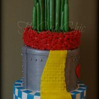 Wizard of Oz Inspired Cake