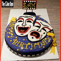 THE NO BUSINESS LIKE SHOW BUSINESS BIRTHDAY CAKE