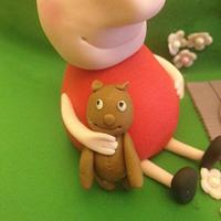 Peppa Pig  by icedtouchcakes