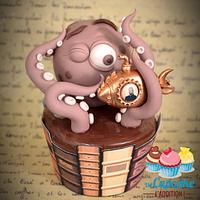 Jules Verne's Extraordinary Bestiary Cupcakes