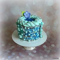 Fault-line cake for Diane :)