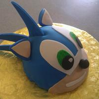Sonic the Hedgehog by Carrie