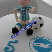 Brighton and Hove Albion FC Cake