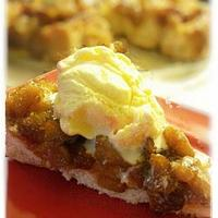upside down apple dumpling skillet cake!! by  Pink Ann's Cakes