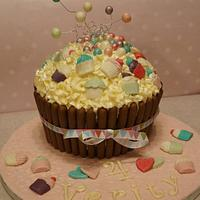 Cupcake Themed Giant Cupcake