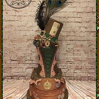 Steampunk cake.