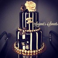Fashionable Chanel Cake