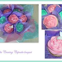 cupcake bouquet by Hayley