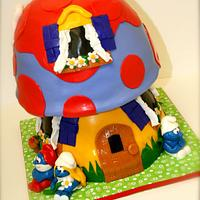 Smurf House by Stacy Lint