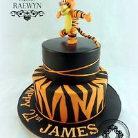 My First Tigger! by Raewyn Read Cake Design