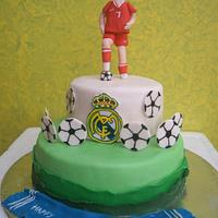 Cake for a football fan