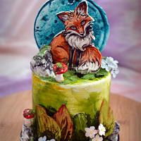 AUTUMN CAKE -BY crin.sugarart