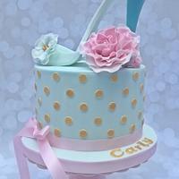 High Heel Shoe Cake