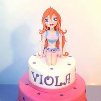 Bloom cake