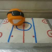 Renegade Broomball Cake