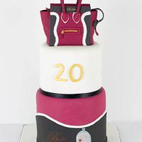 Birthday cake Céline Paris bag