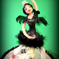 Ballerina cake by Donatella Bussacchetti