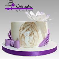 Cake on 18th birthday