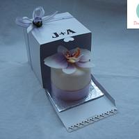 Little wedding favours cakes