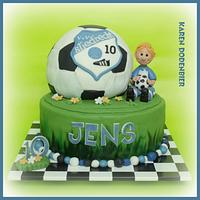Another Soccer cake!!!