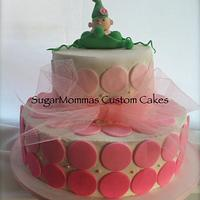 Pea In A Pod Baby Shower Cake by SugarMommas Custom Cakes