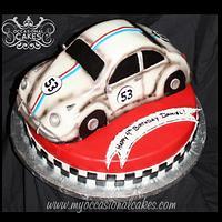 Disney's Herbie The Love Bug (TM) cake