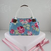 Cath Kidston Handbag cake by The Fairy Cakery
