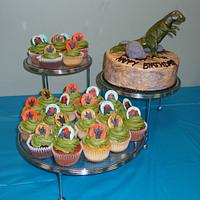 Dino and Cupcakes