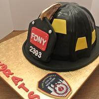 FDNY cake